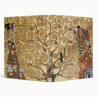 Gustav Klimt Tree Of Life Binder