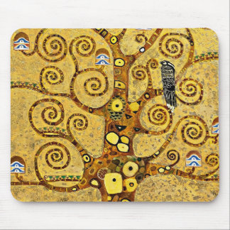 "Gustav Klimt, ""Tree of life"" Mouse Pad"