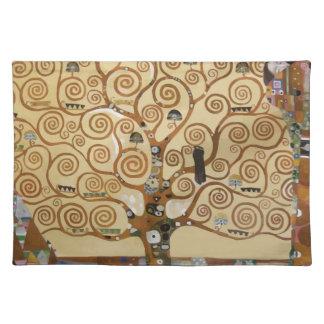 Gustav Klimt Tree Of Life Placemat