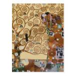 Gustav Klimt Tree Of Life Post Cards