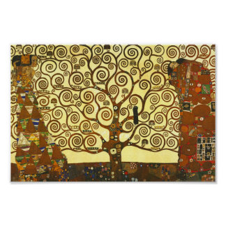 Gustav Klimt Tree of Life Poster