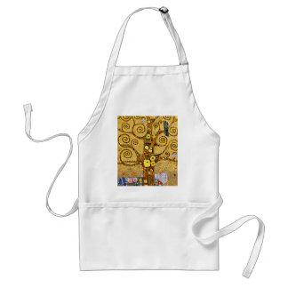 "Gustav Klimt, ""Tree of life"" Standard Apron"