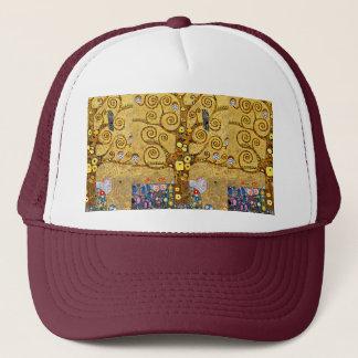 """Gustav Klimt, """"Tree of life"""" Trucker Hat"""