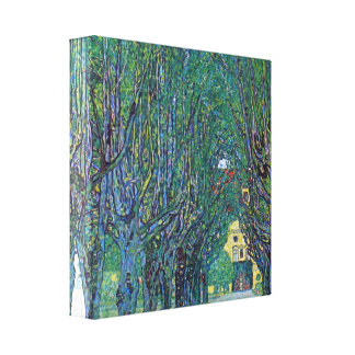 Gustav Klimt - Way to the Park Canvas Print
