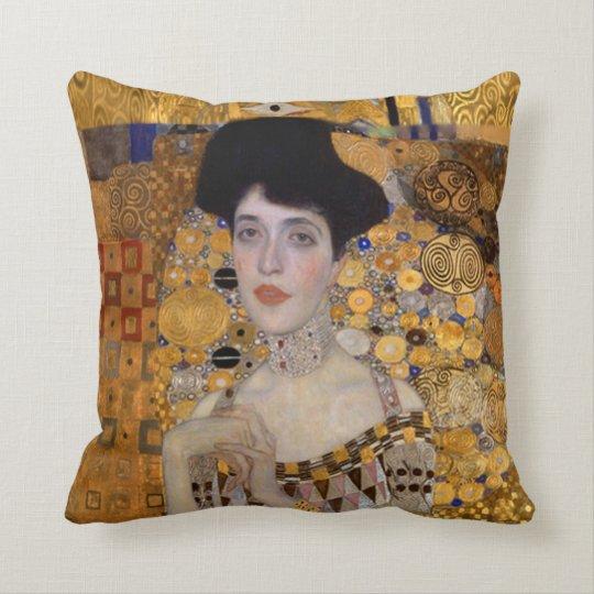 Gustav Klimt Women Throw Pillow