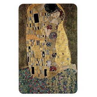 Gustav Klimt's The Kiss (circa 1908) Rectangular Photo Magnet