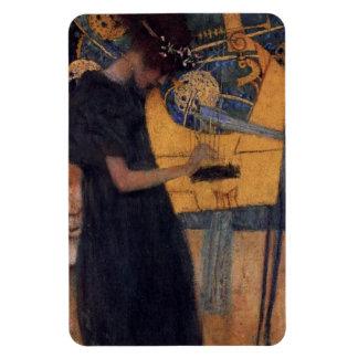 Gustav Kllimt Harp Music Magnet