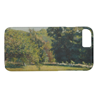 Gustave Caillebotte  - A Garden in Trouville iPhone 8/7 Case