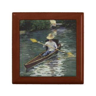 Gustave Caillebotte  - Canoe on the Yerres Gift Box