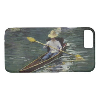 Gustave Caillebotte  - Canoe on the Yerres iPhone 8/7 Case