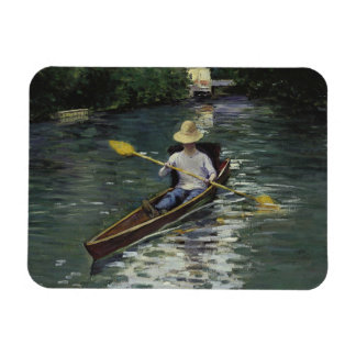 Gustave Caillebotte  - Canoe on the Yerres Magnet