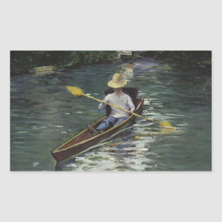 Gustave Caillebotte  - Canoe on the Yerres Sticker