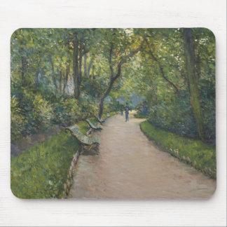 Gustave Caillebotte - Le Parc Monceau Mouse Pad