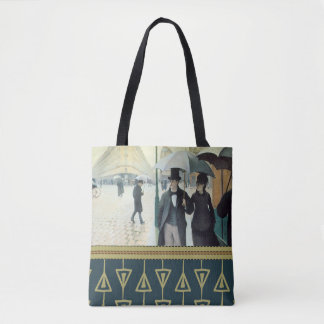 Gustave Caillebotte PARIS STREET, RAINY DAY 1877 Tote Bag