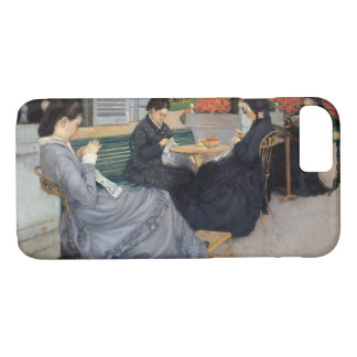 Gustave Caillebotte - Portraits in the Countryside iPhone 8/7 Case