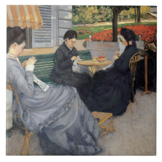 Gustave Caillebotte - Portraits in the Countryside Tile