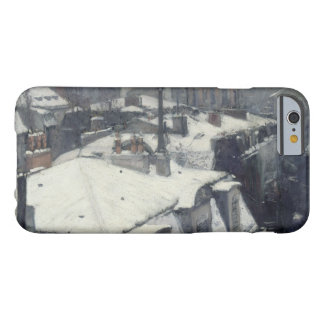 Gustave Caillebotte - Rooftops in the Snow Barely There iPhone 6 Case