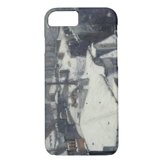 Gustave Caillebotte - Rooftops in the Snow iPhone 7 Case