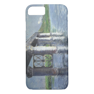 Gustave Caillebotte - The Seine and the Railroad iPhone 7 Case