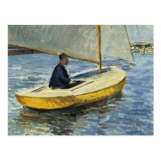 Gustave Caillebotte - The Yellow Boat Postcard
