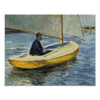 Gustave Caillebotte - The Yellow Boat Poster