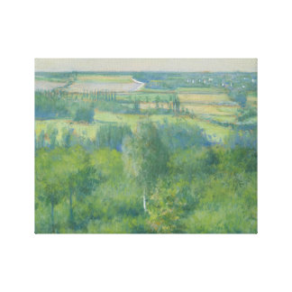 Gustave Caillebotte - Valley of the Yerres Canvas Print