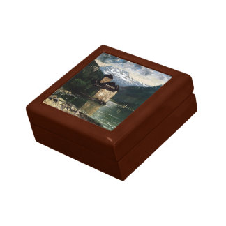 Gustave Courbet- Chateau du Chillon Gift Box
