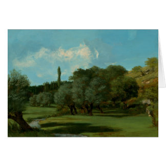 Gustave Courbet -La Bretonnerie in the Department Card