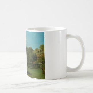 Gustave Courbet -La Bretonnerie in the Department Coffee Mug