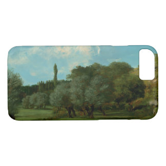 Gustave Courbet -La Bretonnerie in the Department iPhone 7 Case