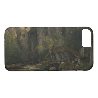 Gustave Courbet - River and Rocks iPhone 7 Case