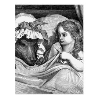 Gustave Dore - Little Red Riding Hood Postcard