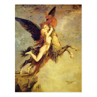 Gustave Moreau: The Chimera Postcard