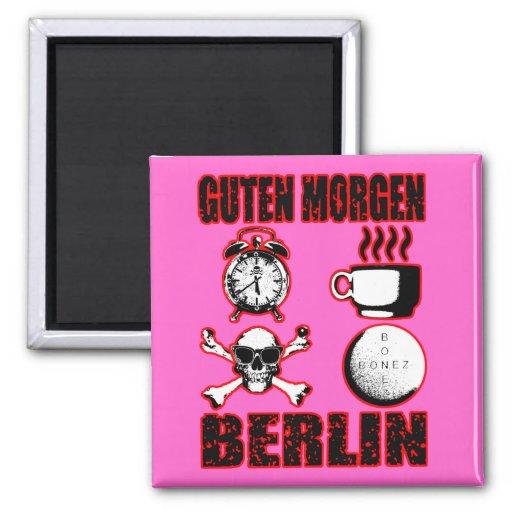 GUTEN MORGEN BERLIN II FRIDGE MAGNET