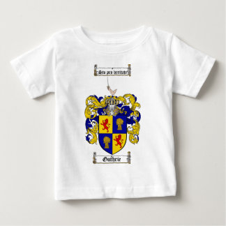 GUTHRIE FAMILY CREST -  GUTHRIE COAT OF ARMS BABY T-Shirt