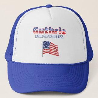 Guthrie for Congress Patriotic American Flag Trucker Hat