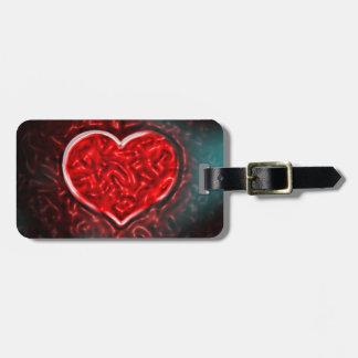 Gutsy Valentine Luggage Tag