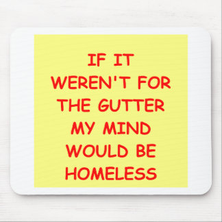 GUTTER.png Mouse Pad