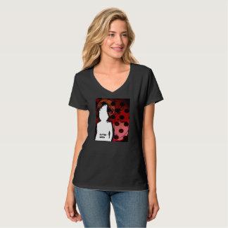 GUTTERWITCH Women's Vee Neck T-Shirt