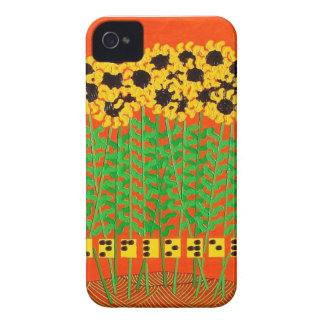 Guy Cobb Braille Sunflowers Painting iPhone Case