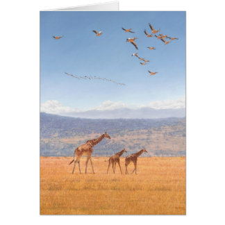 Guy Combes Wildlife Art Greetings Cards