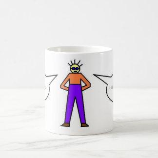 Guy in Tights disappearing mug! Magic Mug