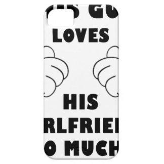Guy loves Girlfriend iPhone 5 Case