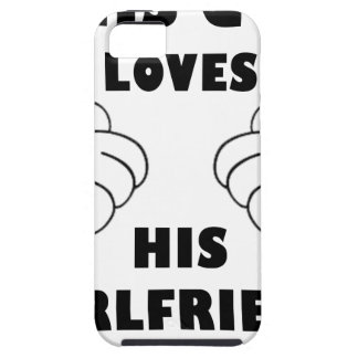 Guy loves Girlfriend iPhone 5 Cover