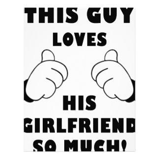 Guy loves Girlfriend Letterhead