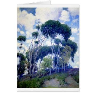 Guy Rose - Laguna Eucalyptus - Art Masterpiece Card