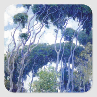 Guy Rose - Laguna Eucalyptus - Art Masterpiece Square Sticker
