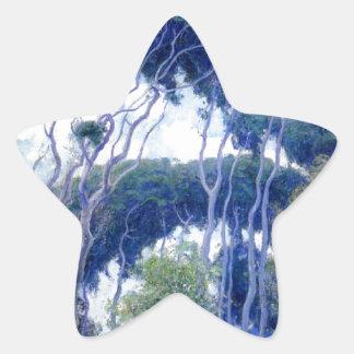Guy Rose - Laguna Eucalyptus - Art Masterpiece Star Sticker