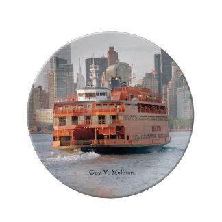 Guy V. Molinari decorative plate