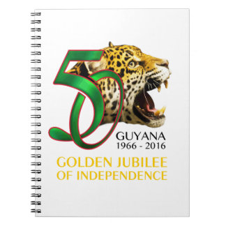 Guyana 50th Independence Notebook